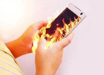 می خوای بدونی چطوری از داغ شدن گوشیت جلوگیری کنی ؟